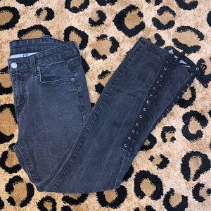 CARMAR lace up skinny jean